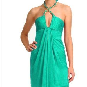 "BCBG Emerald Green ""Pippa"" dress size XS NWT"